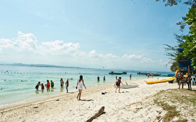 2017年厦门到马来西亚旅游之沙巴沙比岛+马穆迪岛双岛自助游1日游
