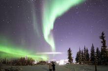 北极极光照片--拍摄于加拿大Inuvik