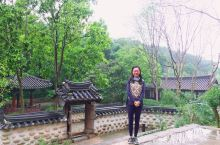 我是有缘人,雨天偶进越秀公园的京畿园