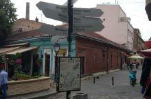 贝尔格莱德Skadarlija步行街。