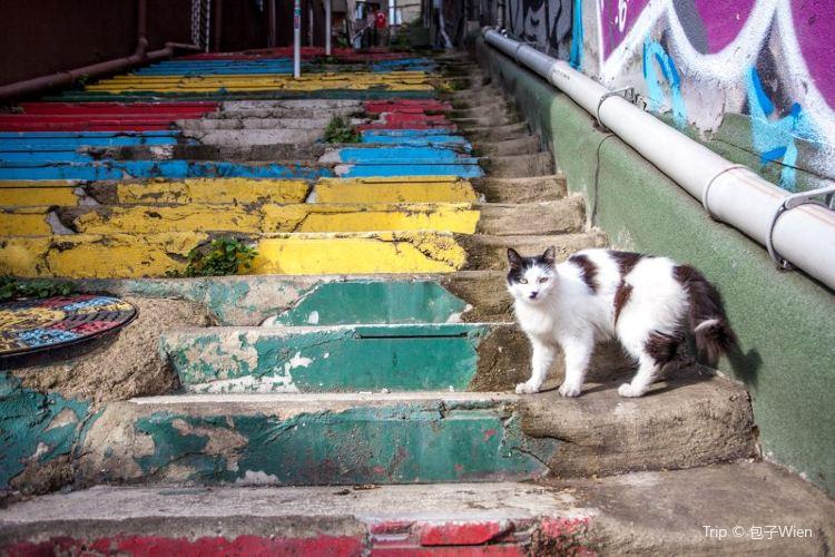 Rainbow Stairs2