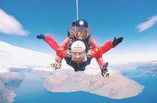 新西兰旅行,皇后镇挑战高空跳伞