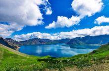 长白山天池,洁净的蓝