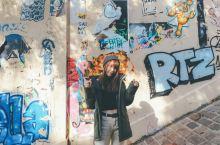巴黎网红墙—蒙马特高地的涂鸦彩绘