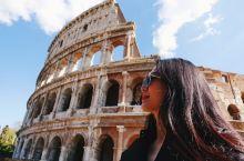 世界遗产 古罗马废墟 斗兽场