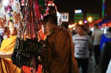 景洪澜沧江:江边夜市到泰国街就一条路