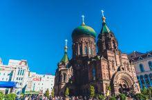 远东地区最大的东正教堂原来在冰城哈尔滨,每天都会有鸽子环绕