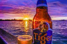 亚庇新天地,干了这杯绝美的夕阳