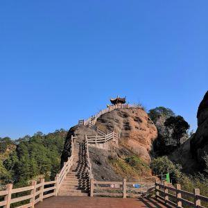 冠豸山长寿峰旅游景点攻略图