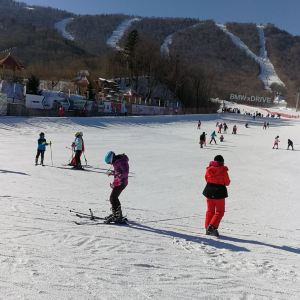 亚布力观光缆车及世界第一滑道旅游景点攻略图
