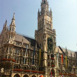 慕尼黑新市政厅旅游景点攻略图