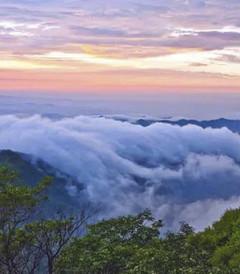 """[临朐游记图片] 沂山的云海你见过吗?那是一幅绝世的""""奇美画卷"""""""