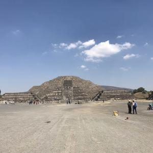 月亮金字塔旅游景点攻略图