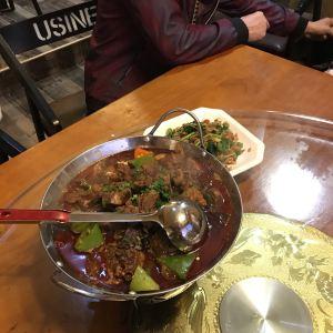临江餐馆二楼美食部落旅游景点攻略图