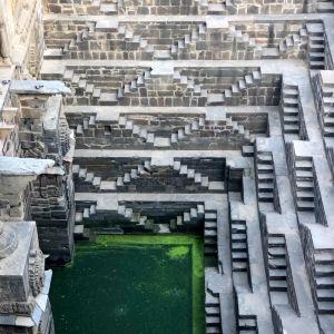 阶梯水井旅游景点攻略图