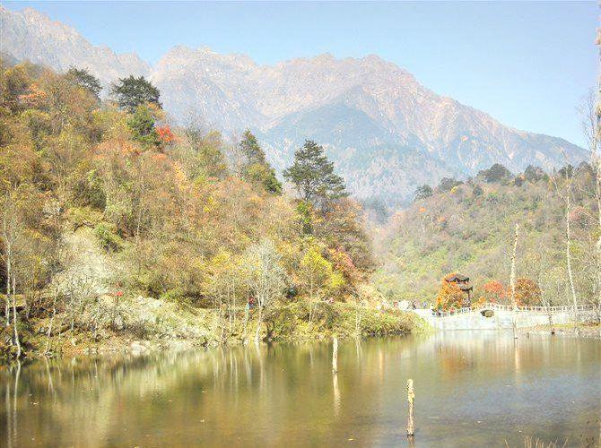 Laba River Park, Erlangshan National Park