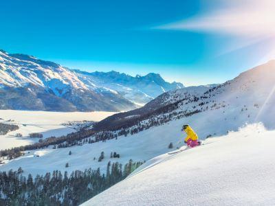 羊山景區四季滑雪場
