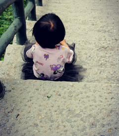 [费县游记图片] 天蒙山上最小的孤旅者