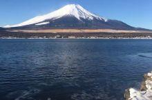 美丽的富士山,美丽的山中湖,幽静的花园酒店👍