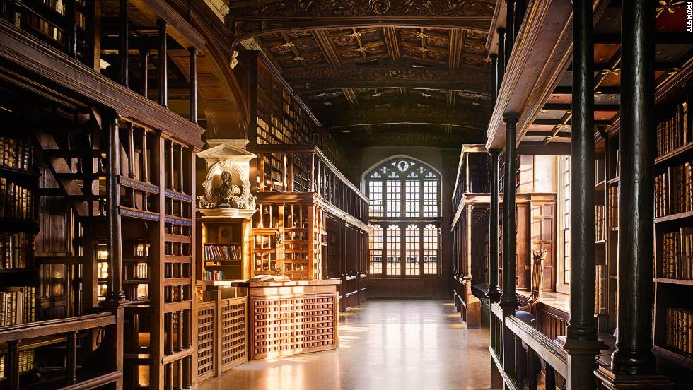 博德莱安图书馆旅游景点图片