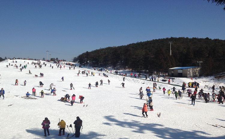 상량강 스키 리조트1
