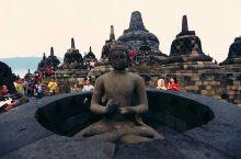#元旦去哪玩#婆罗佛屠,火山灰下的佛教奇观