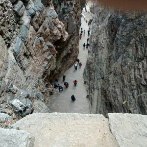 苍岩山天王殿旅游景点攻略图