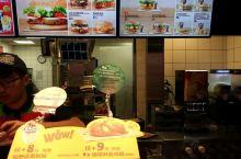 汉堡王的点餐台