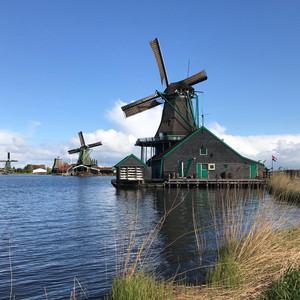 赞丹游记图文-荷兰风车村