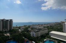 三亚湾的丽禾酒店风景