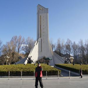 西藏和平解放纪念碑旅游景点攻略图