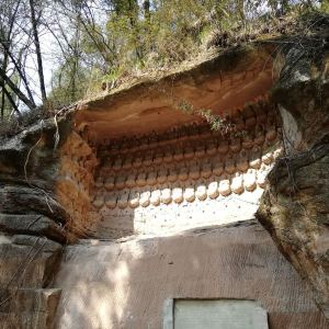 千佛寺旅游景点攻略图