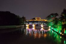 嘉兴南湖夜景