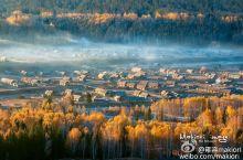 禾木村,上帝打翻了秋色在此