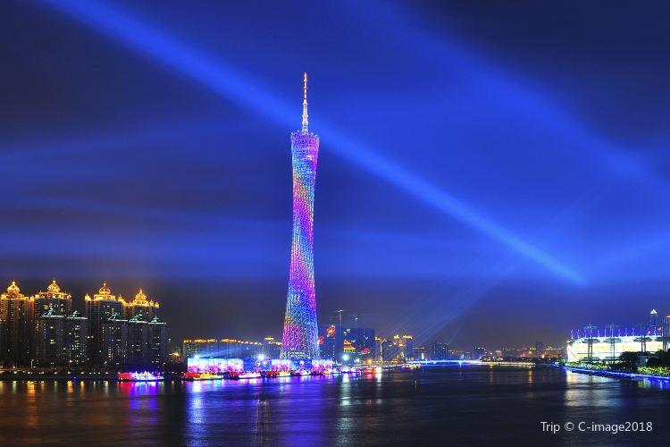 광저우 타워(광주탑)1
