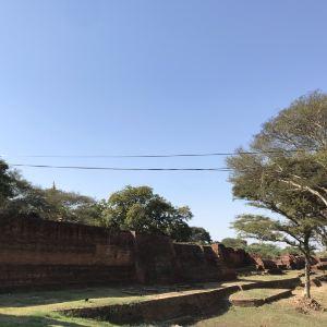 蒲甘王宫遗址旅游景点攻略图