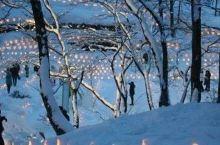 青根温泉雪灯节