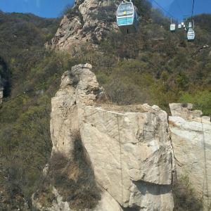 五岳寨风景区旅游景点攻略图