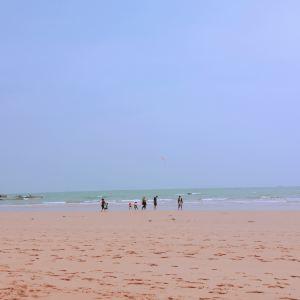 银沙滩海水浴场旅游景点攻略图