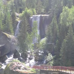 卡拉卓勒瀑布旅游景点攻略图