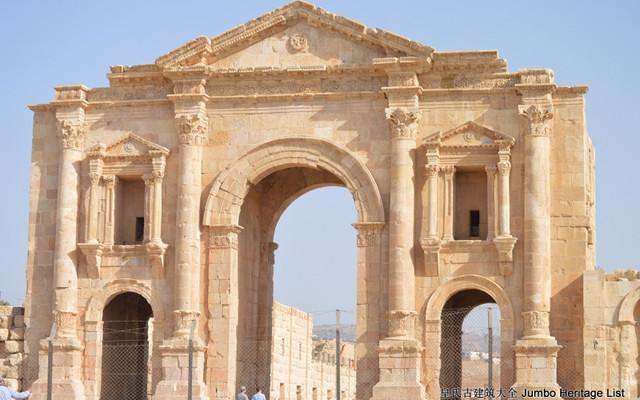 第716回:杰拉什城时空隧道,柱廊神殿穿越古今