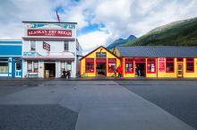 阿拉斯加当年最火淘金小镇,现在如果没有游客,街头几乎空无一人