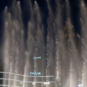 迪拜喷泉旅游景点攻略图