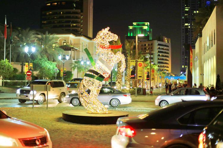 Jumeirah Beach residential area