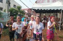 老挝泼水节