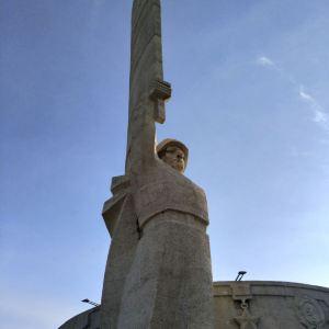 翟山纪念碑旅游景点攻略图