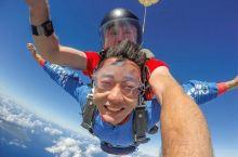#元旦去哪玩#塞班高空跳伞,像鸟儿一样遨游蓝天