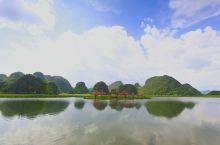 普者黑:桃花岛,舍得草场,摆龙湖
