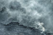西江苗寨的晨雾#向往的生活