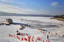 镜泊湖,一个冬季旅游的好去处,能满足你对冰雪的所有期待!